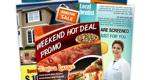 FREE businesss card and flyer design