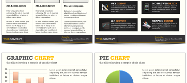 [Customer Only] FREE PowerPoint and Business Landing Page Template