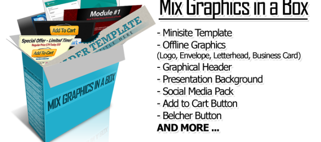 FREE Mobile Business Pack + Mix Graphics in a Box!