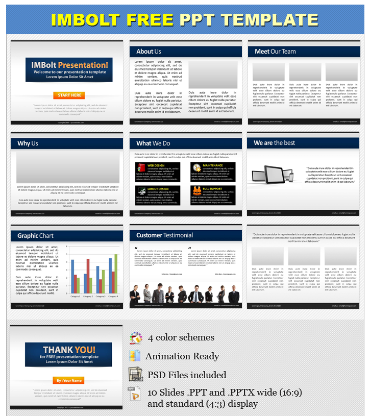 escort directory template - free powerpoint templates and minisites imbolt blog