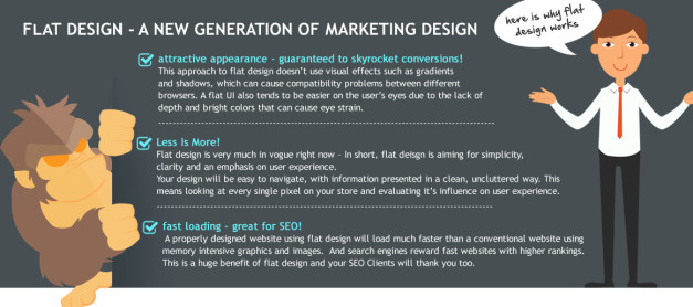 FLAT Design Marketing Kit