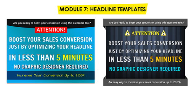 PowerPoint Video Template + Marketing Graphics Part 2