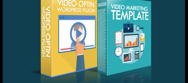 Video Marketing Template PLUS Amazing Video Opt-in WordPress Plugin