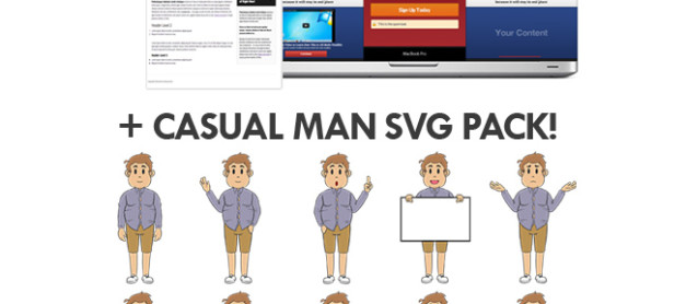 Exclusive Gift : Landing Page WordPress Plugin + New SVG Pack
